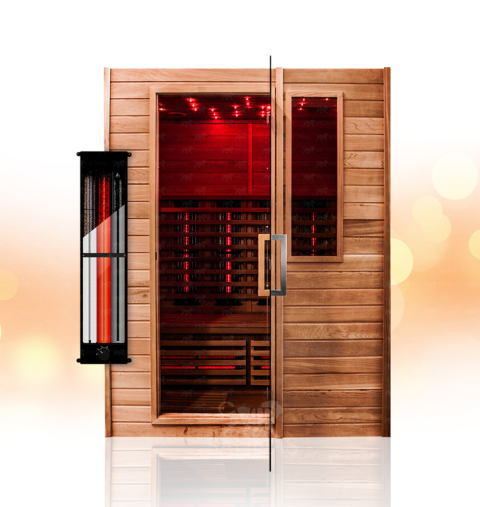 vip 5 vip saunas. Black Bedroom Furniture Sets. Home Design Ideas