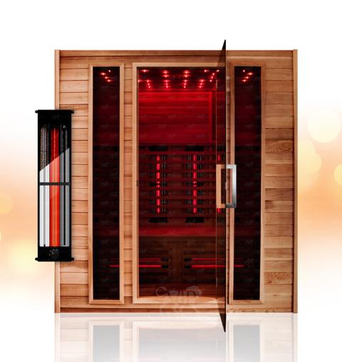 vip 7 vip saunas. Black Bedroom Furniture Sets. Home Design Ideas